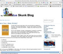The Blue Skunk