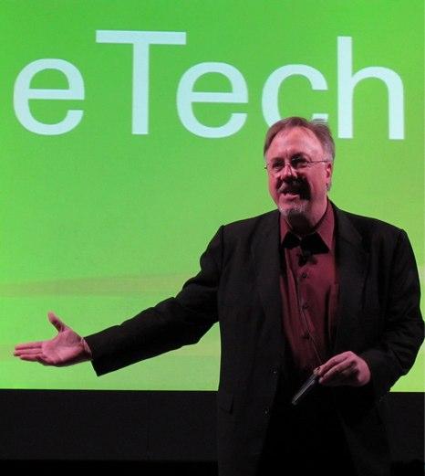 David speaking at Ohio eTech 2010