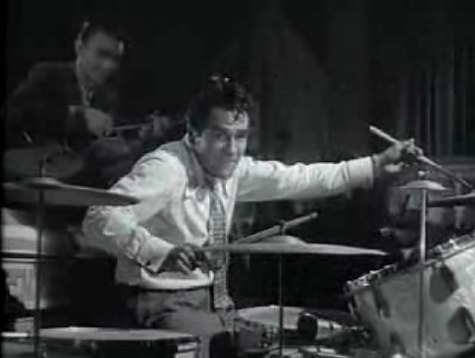 Gene Krupa Captured for YouTube