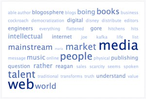 Tag Cloud of Andrew Keen's Statements