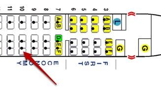 MD 80 diagram from SeatGuru