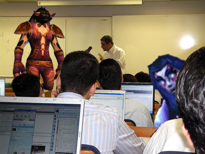 MMORPG in the Classroom?