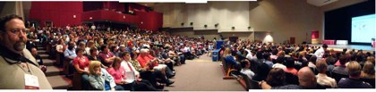 Pano of the Opening Session