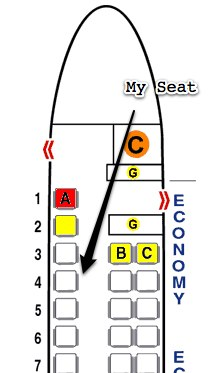 Seat 4A