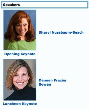 Sheryl Nussbaum-Beach and Deneen Frazier Bowen