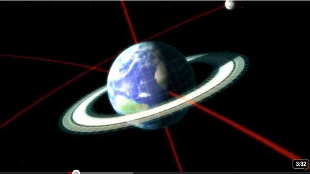 If the earth had rings like Saturn