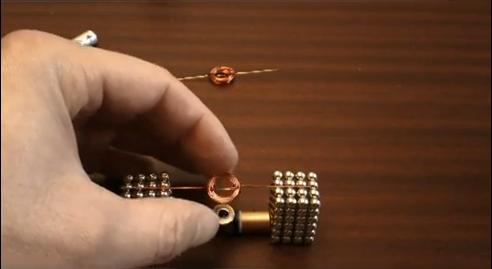 Make your own Buckyballs motor.