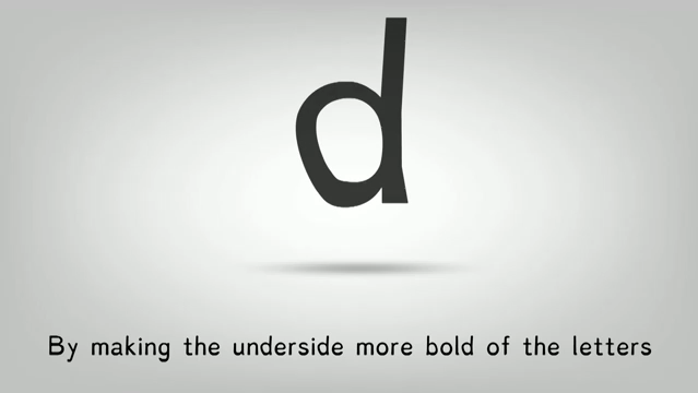 A Font for Dyslexics