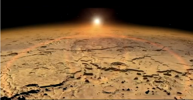 How Planet Mars may have lost its atmosphere.